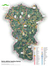 Turistična karta občine Ivančna Gorica